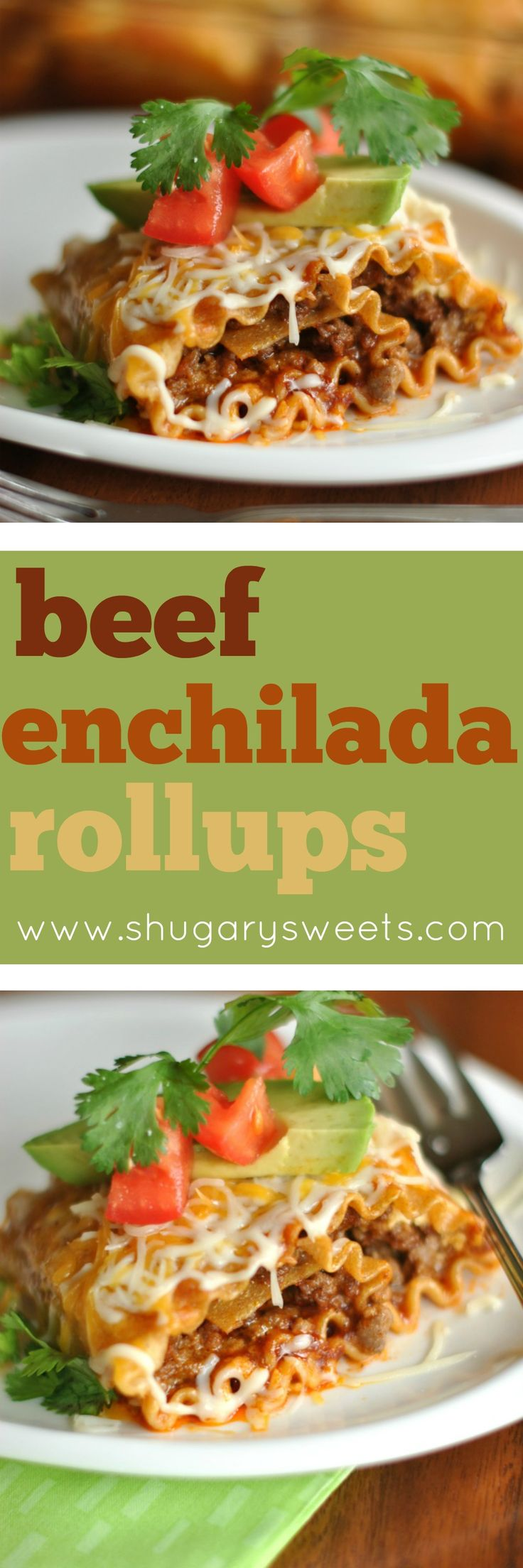 Cinco de Mayo is right around the corner. How about making some delicious Enchilada Beef Rollups!