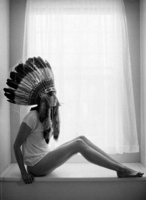 plumes, Indian, Origines