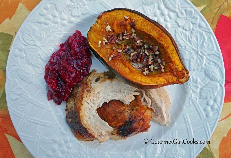 ... : Slow Cooker Turkey Breast & Roasted Acorn Squash w/ Maple & Pecans