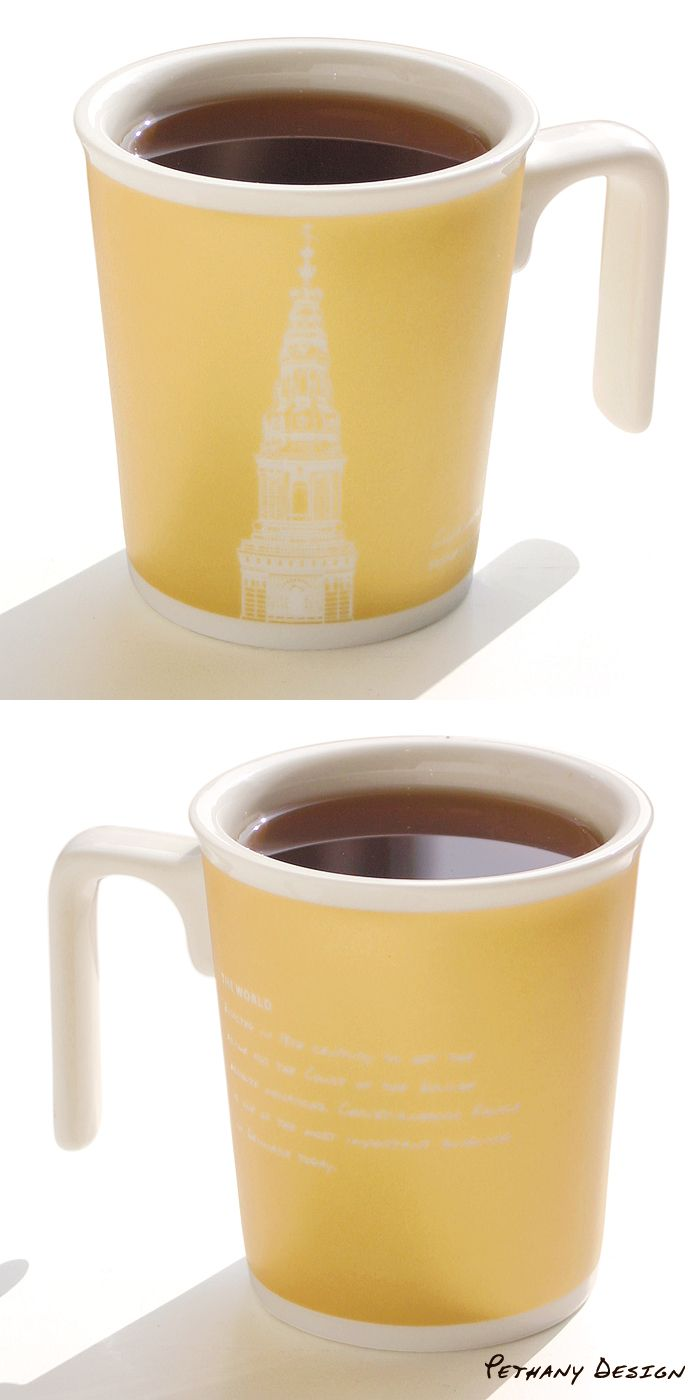 [The World Copenhagen Kissing Mug ] Material: Porcelain; Designed in 2014 for Pethany+Larsen. Made in Taiwan.