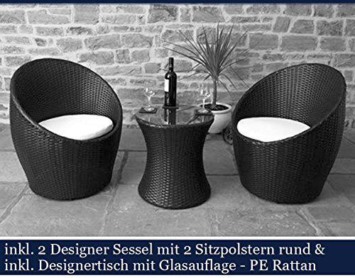 Gartenstühle rattan rund  Die besten 25+ Polyrattan gartenmöbel günstig Ideen auf Pinterest ...