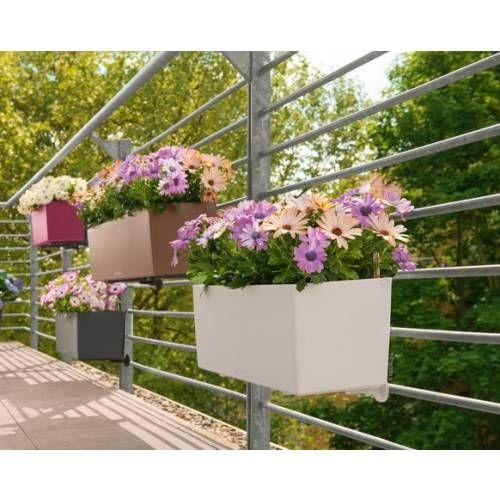Lechuza Balconera Color 50 virágláda   A beépített Lechuza-önöntözőrendszer megbízhatóan ellátja a növényeket a legforróbb nyári napokon is.