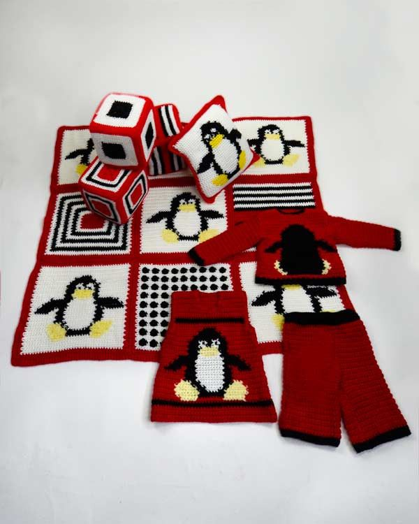 Maggie's Crochet · Penguin Collection Pattern