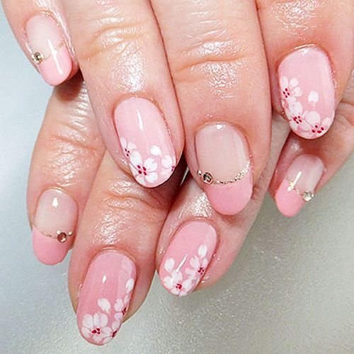【画像】 最旬! 春色ピンクがかわいい「桜ネイル」画像まとめ 7/7 - Peachy
