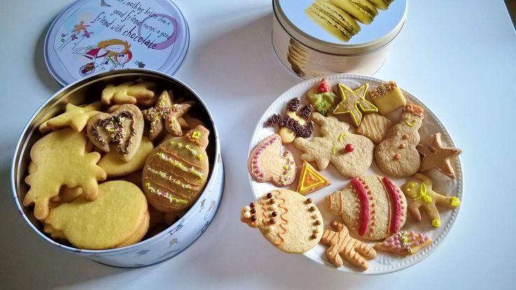 Biscuits de Noël citron et fleur de sel