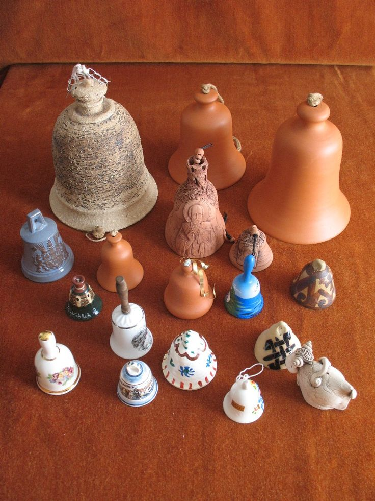 Clay and stone bells