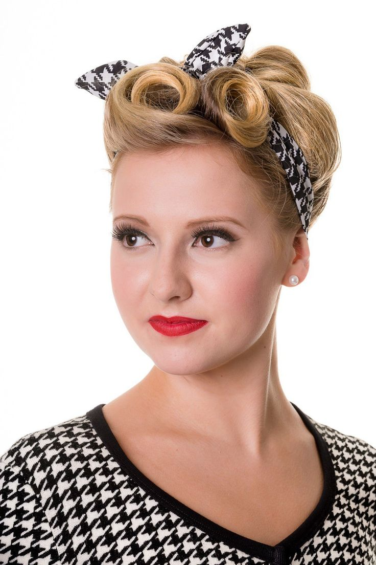 The 25 Best 50s Hairstyles Ideas On Pinterest Retro Diy