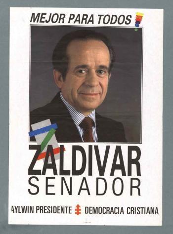 Andrés Zaldivar, Partido Demócrata Cristiano, elecciones parlamentarias, 1989