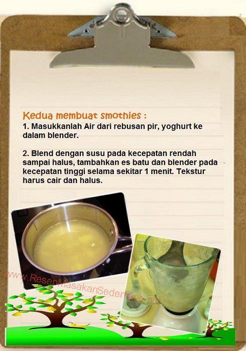 Resep Dessert - Cara Membuat Smoothies  #resep#masakan#sederhana#minuman#seger#enak#smoothies#cara#membuat#pear#  Youtube : https://www.youtube.com/watch?v=KdPyKqCXSPc  Nb : website (http://ResepMasakanSederhana.net/) kami dalam proses pembuatan :)