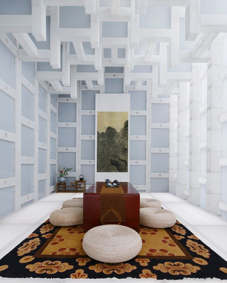 kengo kuma beijing tea house pavilion china designboom