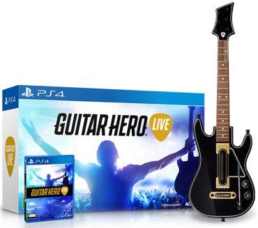 [Saraiva Guitar] Guitar Hero Live Bundle (PS4 ou Xbox ONE) - R$ 265,91 no boleto