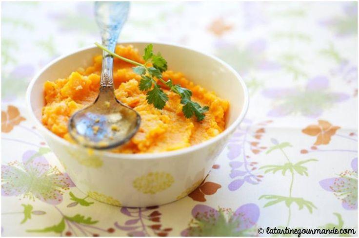 Une petite purée de carottes au lait de coco, moi je dis oui à cette recette exotique :) => http://ow.ly/h9pA309f0pO