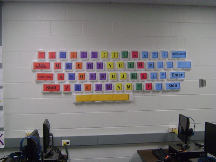 Computer Lab Decoration Pics ~ Best images about school ideas on pinterest computer