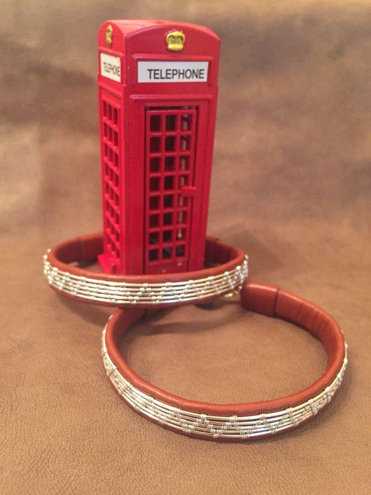 Leather bracelet design, silver wrap Etsy shop https://www.etsy.com/listing/543010943/mens-leather-bracelet-sterling-silver