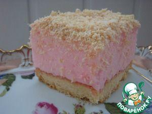 """Пирожные """"Розовые сны"""""""