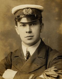 "John George ""Jack"" Phillips was born 11 April 1887, head wireless operator on the Titanic.  Went down with the ship at age 25."
