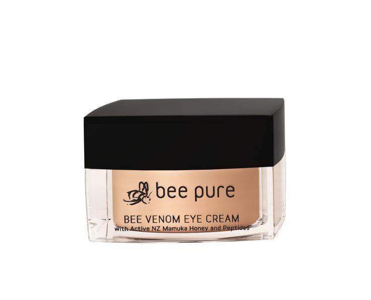 Krem pod oczy na jadzie pszczelim Bee Pure Bee Venom Eye Cream, z miodem manuka UMF20+ i peptydami BeeYes
