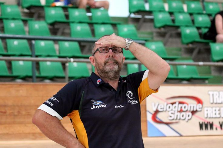 The Coach watches on.  Every micro second executed is the difference between a gold and a silver.  Photo by Mal Matthews.