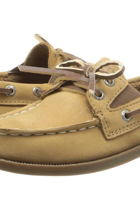 Sperry Kids A/O Slip On (Toddler/Little Kids) (Sahara Leather) Kid's Shoes - Sperry Kids, A/O Slip On (Toddler/Little Kids), CB50670, Footwear Closed General, Closed Footwear, Closed Footwear, Footwear, Shoes, Gift, - Street Fashion And Style Ideas