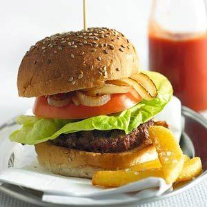 Recept - Homemade hamburgers - Allerhande