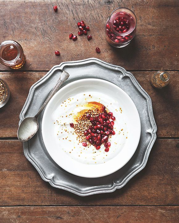 Toasted Buckwheat and Pomegranate Breakfast Bowl | Free People Blog #freepeople