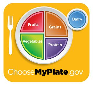 Healthy Eating resource. Fits American guidelines, but would likely work with Canada's Food Guide too