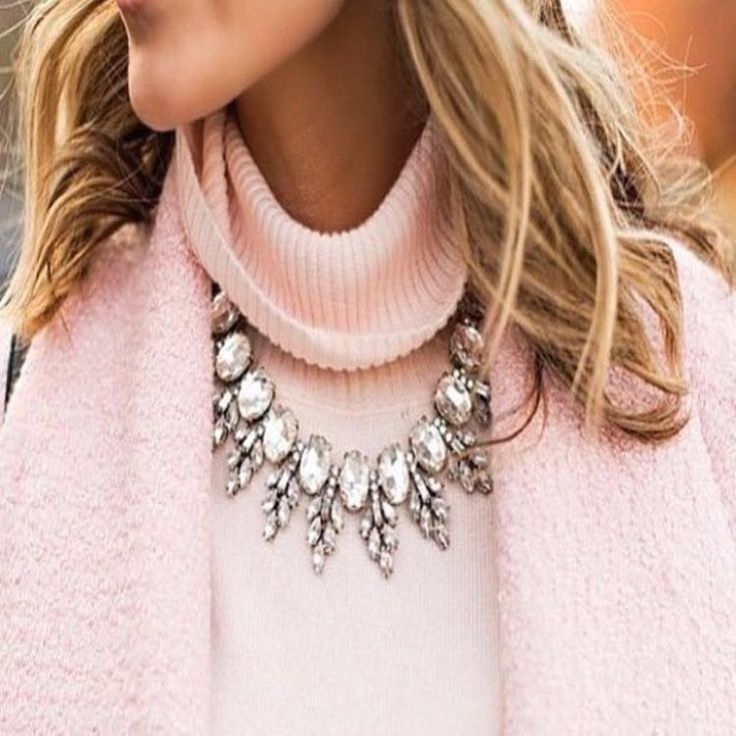 2016 Luxury Brand Crew Crystal Necklace Pendant Leaves Vintage Choker Collar Jewelry Chunky Choker Statement Necklace Women