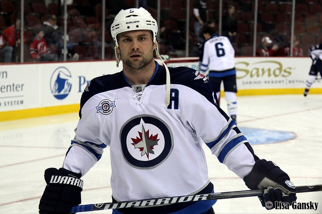 Mark Stuart of the Winnipeg Jets.