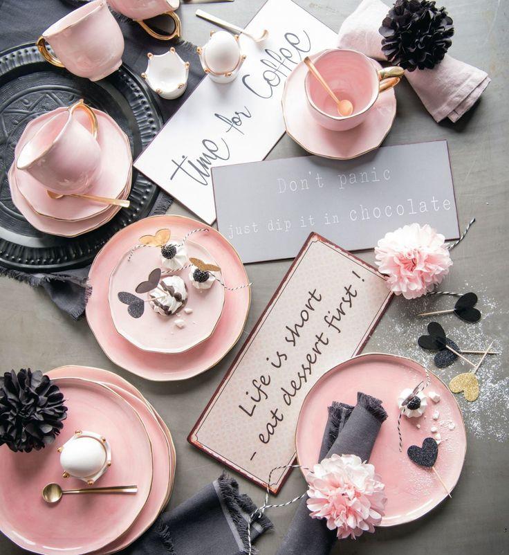 Life is short - eat dessert first! #dessert #rosa #service #schilder
