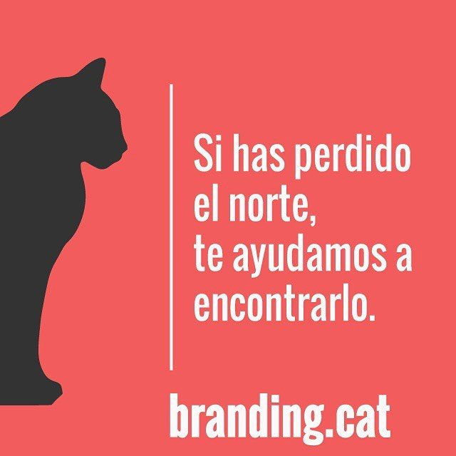 Si necesitas ayuda con tus campañas de publicidad o con tu web llámanos nosotros tenemos la brújula. #reflexionsbranding #frases #quote #red #vermell #lost #branding #cat #creativitat #video #web #creativity #publicidad #marketing #disseny #diseño #diseñográfico #design #graphic #graphicdesign #exploretocreate #cine #sabadell #Barcelona