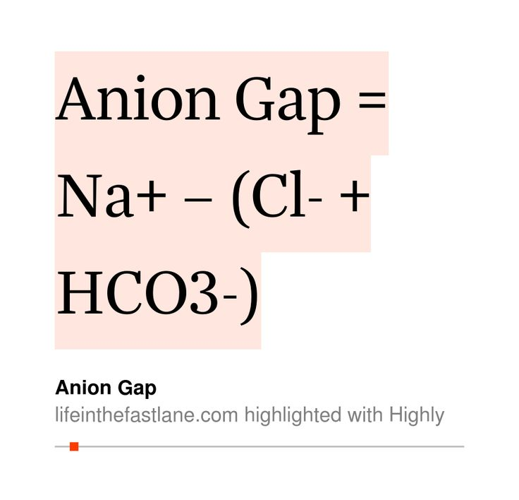 roro's 10 highlights (25s read) in Anion Gap