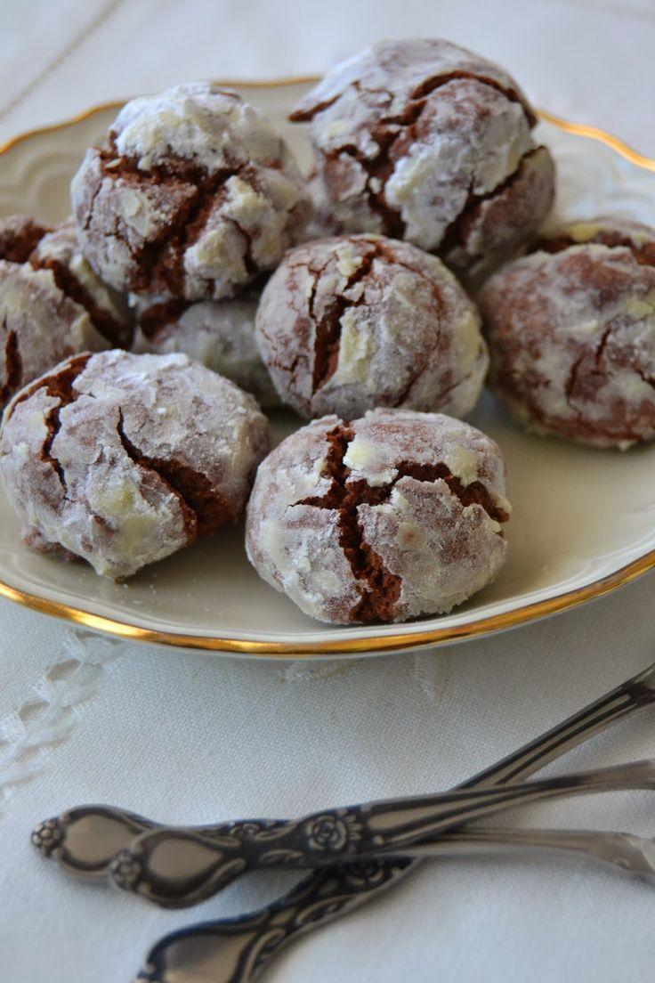 GALLETAS CRAQUELADAS DE CHOCOLATE | Sweet Addict
