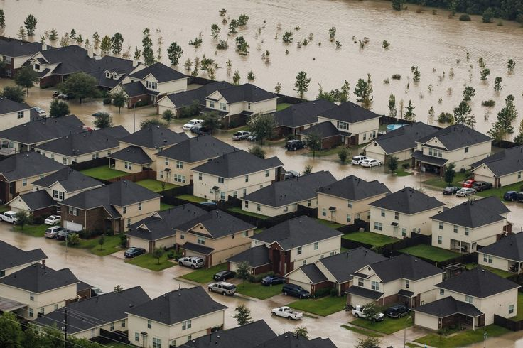 "Scientists warn of more and expanding ""bull's-eyes"" as Americans build in parts of the country at ever greater risk because of climate change and severe weather."
