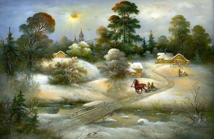 Федоскинская миниатюра Самые известные виды художественной росписи российских мастеров, сохранившиеся до 21 века | World of Art