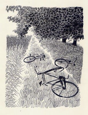 """Pia Valentinis illustration for """"Raccontare gli alberi""""."""