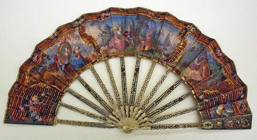 18th century fan. ......................................................♥.....Nims.....♥