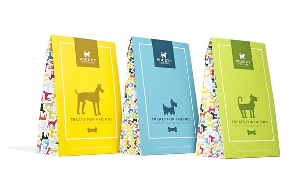 Wicket the dog #package #packaging #design