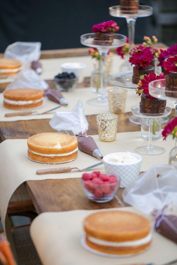 Unterhaltung mit Abby: Cake Decorating Party – Partys & Feiern – #Abby # …   – Kuchen Rezepte