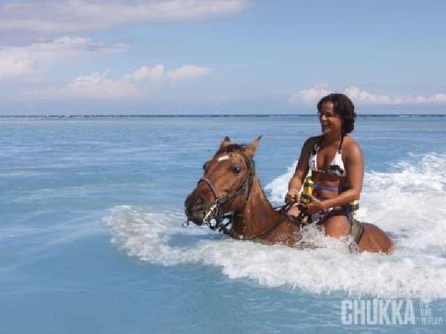 Horseback Ride N' Swim - Montego Bay, Jamaica - http://www.ststravel.com/spring-break/jamaica/montego-bay/activities