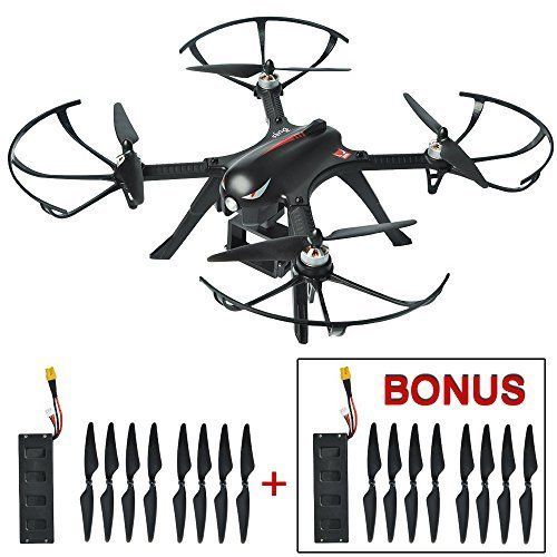 Drone Quadcopter Brushless with GoPro Camera Mount Control Wind 2 Batteries Gift #DroneQuadcopterBrushless