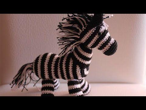 Amigurumi Crochet Pony with Sweater - YouTube