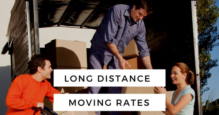 Long Distance Movers Rates and Checklist
