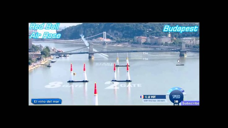 Francois le Vot french pilot on red Bull Air Race W.C. 2015 Budapest,Hungary
