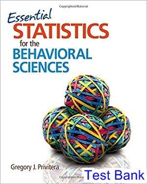statistics for the behavioral sciences 10th edition gravetter pdf free