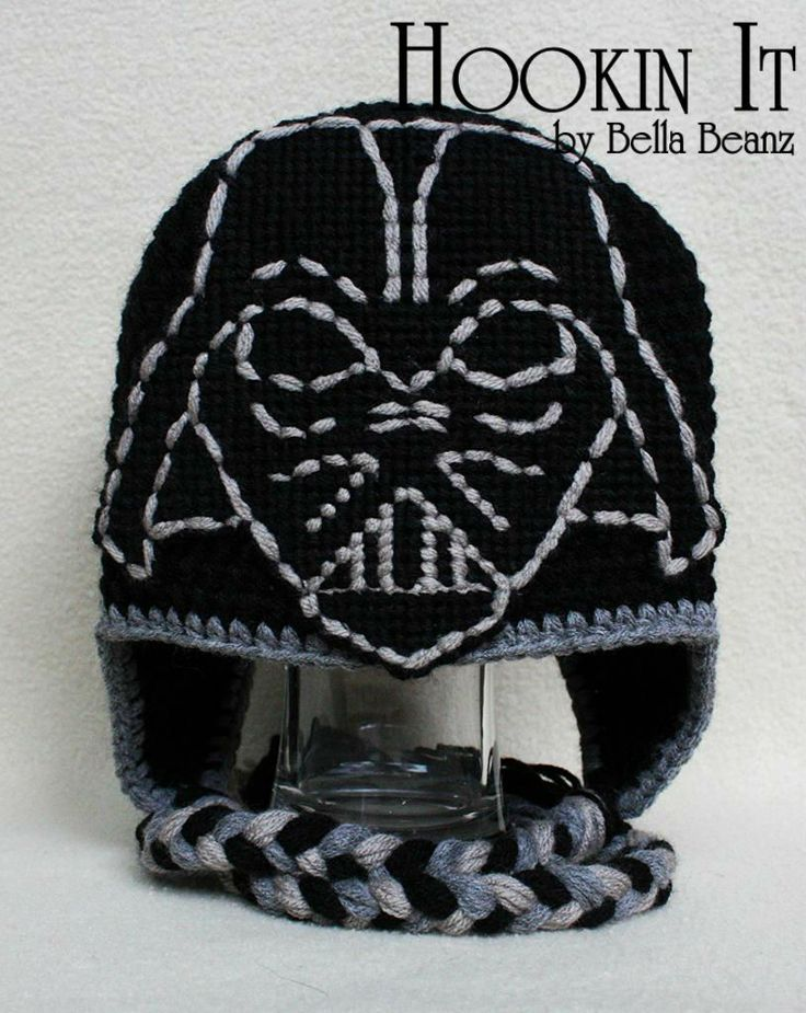 Knitting Pattern Darth Vader Hat : 1000+ images about Star Wars themed stuff on Pinterest Star Wars Crochet, S...