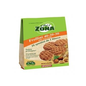 ENERVIT EnerZona Frollini 40-30-30 gusto nocciola - Store For Cycling