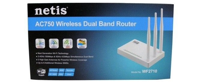 Netis Systems WF2710 AC750 Wireless Router Review