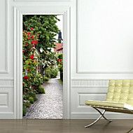 Landscape+Wall+Stickers+3D+Wall+Stickers+Decorative+Wall+StickersVinyl+Material+Home+Decoration+Wall+Decal+Door+Stickers+–+AUD+$+54.62