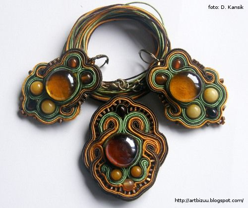 #tutorial #jewelry #soutache #sutasz