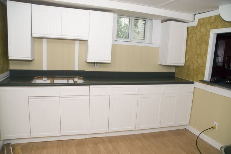 Melamine Cupboard and Countertop Makeover in 2020 ...